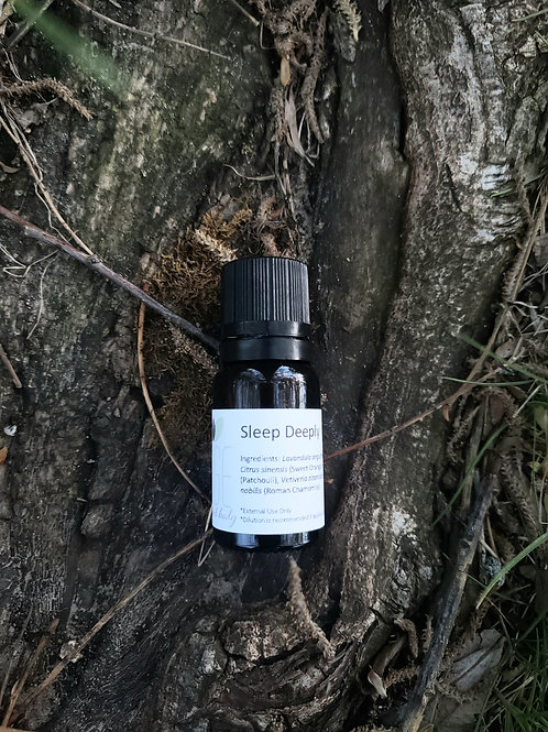 Sleep Deeply Essential Oil Blend - Undiluted Dropper Bottle