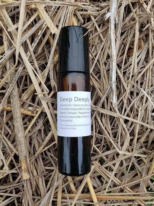 Sleep Deeply Essential Oil Blend - Diluted Roll-on Bottle