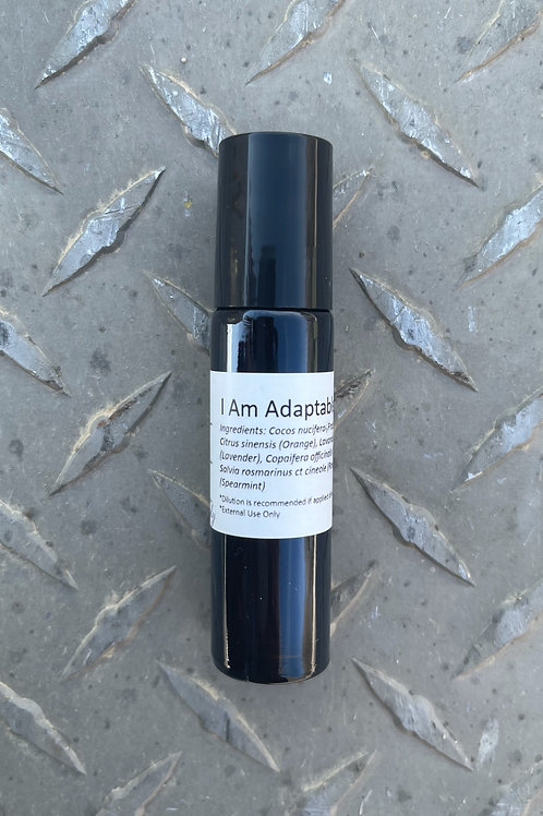 I Am Adaptable Essential Oil Blend - Diluted Roll-on Bottle