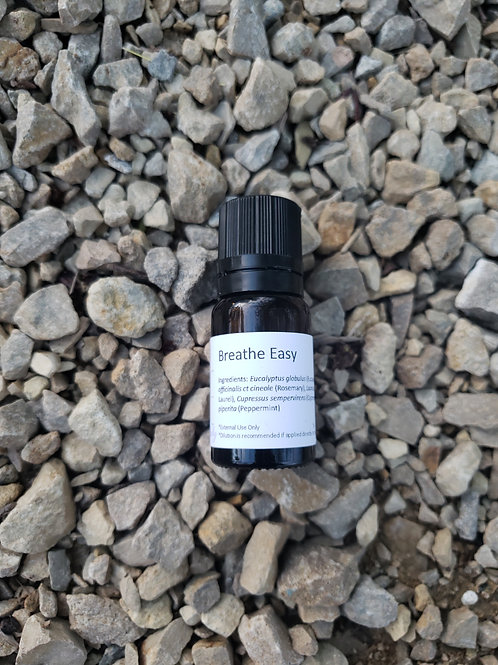 Breathe Easy Essential Oil Blend - Undiluted Dropper Bottle