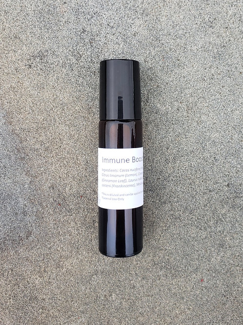 Immune Boost Essential Oil Blend - Diluted Roll-on Bottle