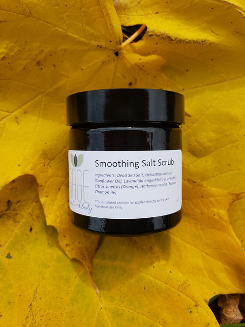 Smoothing Salt Scrub