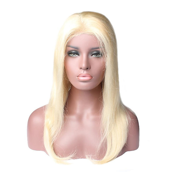 (Straight) #613 BARBIE BLONDE LACE FRONTAL WIG (SALE)
