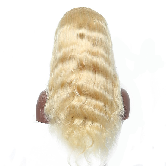 (Body Wave) #613 BARBIE BLONDE FULL LACE WIG