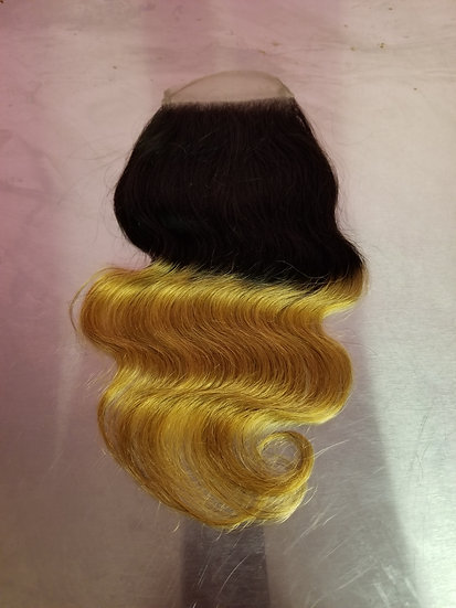 (Body Wave) OMBRE LACE CLOSURE