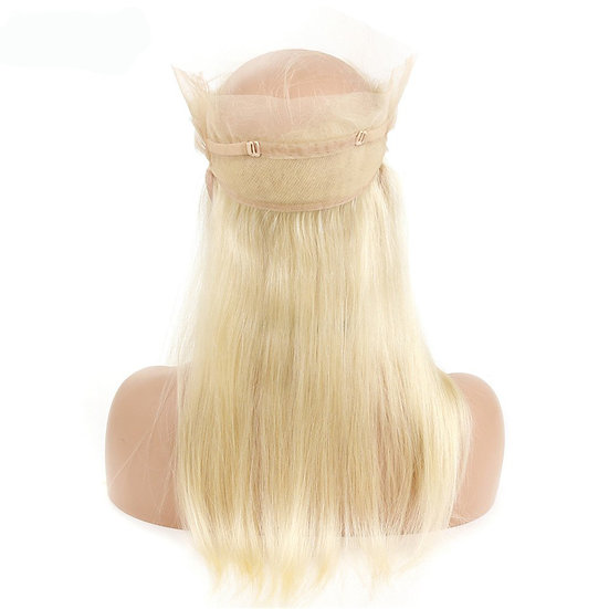 (Straight) #613 BARBIE BLONDE 360 LACE FRONTAL