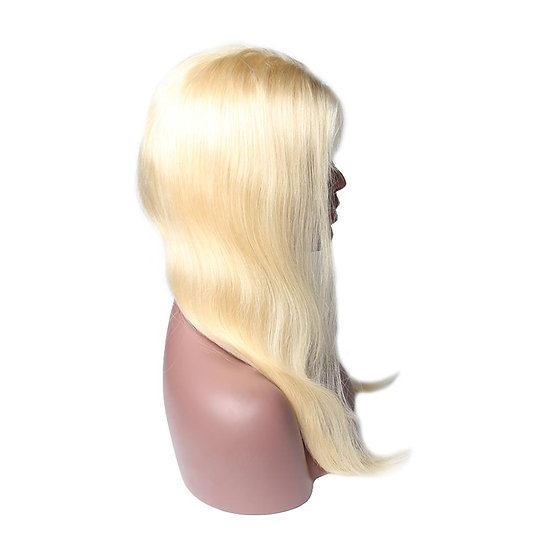 (Straight) #613 BARBIE BLONDE LACE FRONTAL WIG