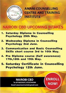 FINAL AMANI NAIROBI CBD CALENDER (Amani