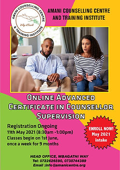 1st June Advanced Certificate Course in