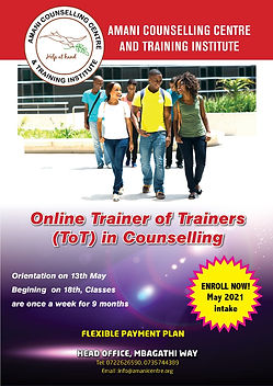 Trainer of Trainer Certificate on 13th M