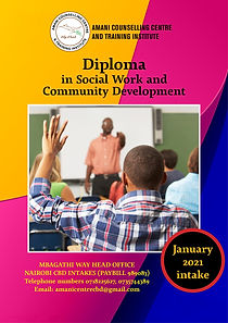 Diploma in Social Work & Community Devel