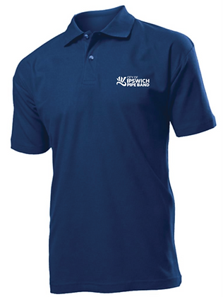City of Ipswich Pipe Band Premium polo shirt