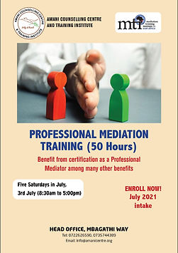Professional Mediation course 3rd July