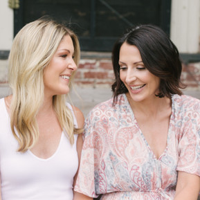 Caroline and Amanda