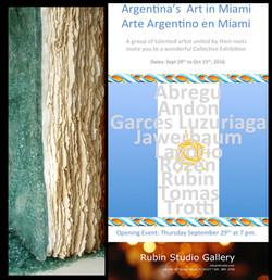 artistas argentinos en Miami