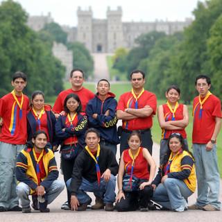 Delegación Ecuatoriana al Jamboree Mundial 2007