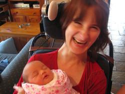My beautiful niece Eve in 2008