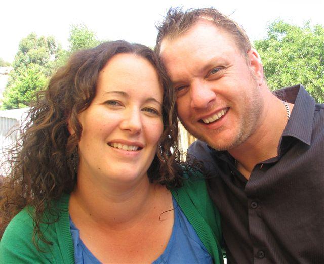 My sis Danielle & hubby Steve