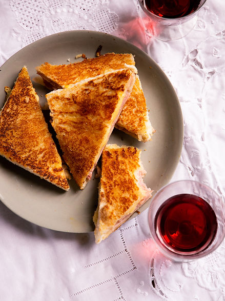 A really buttery croque monsieur