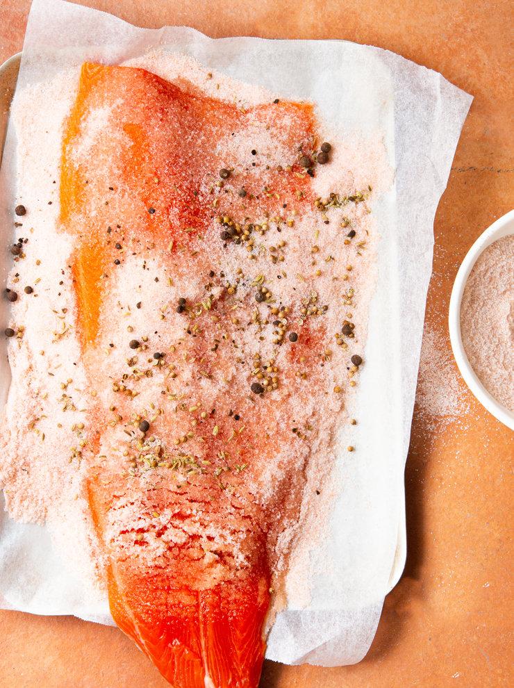 Cured ocean trout