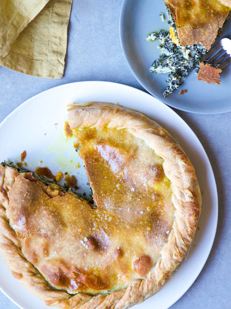 Emiko Davies' torta Pasqualina