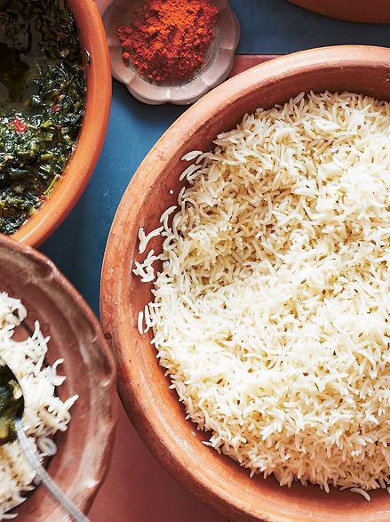 Challaw (Afghan rice)