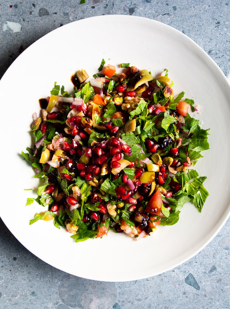 Turkish mountain salad