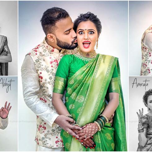 Abhijit + Amruta