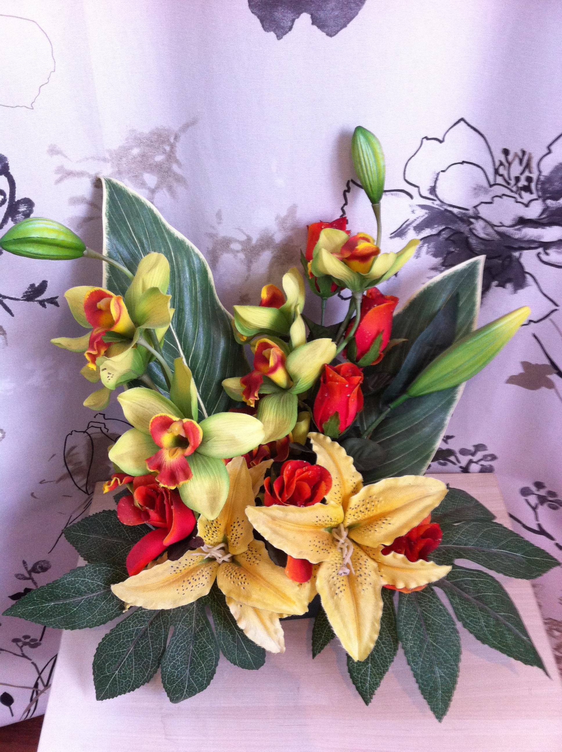Jardinière fleurs