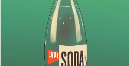 CAPI SODA WITH ROSEMARY AND GRAPEFRUIT          - 250mL
