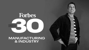 Pavle Jeremic, CEO of Aether Bio, recognized as Forbes 30 Under 30