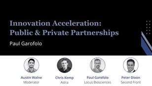 (2/3) Paul Garofolo, CEO of Locus Bio: Innovation Acceleration Through Public-Private Partnerships
