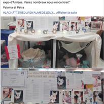 Cage d'expo d'Anne Louise superbement décorée