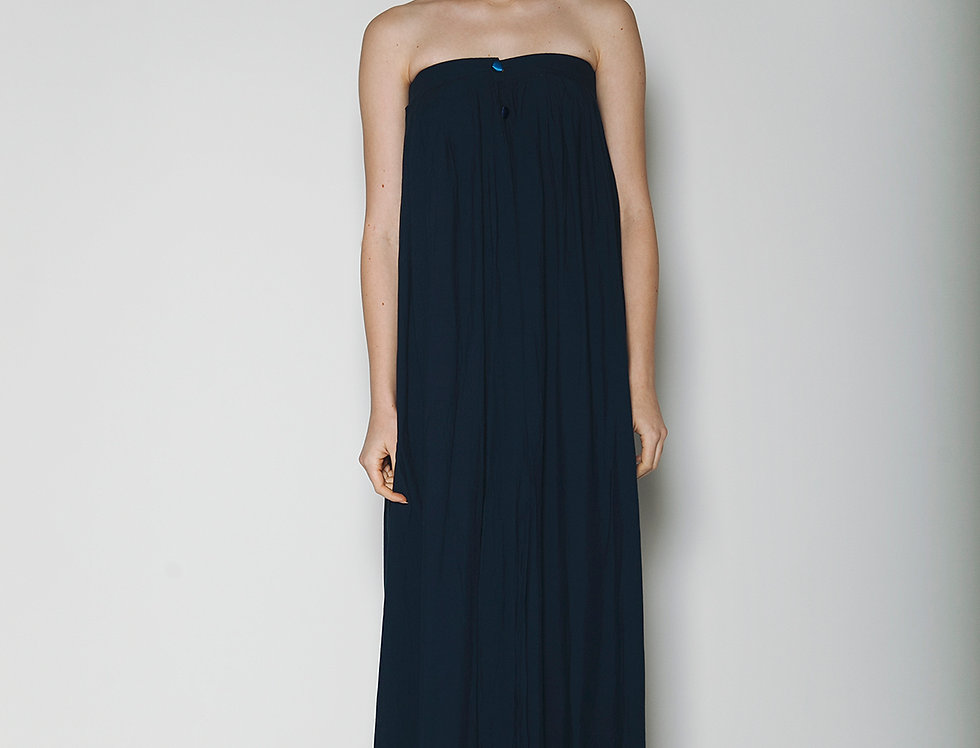 Night Blue Long Dress