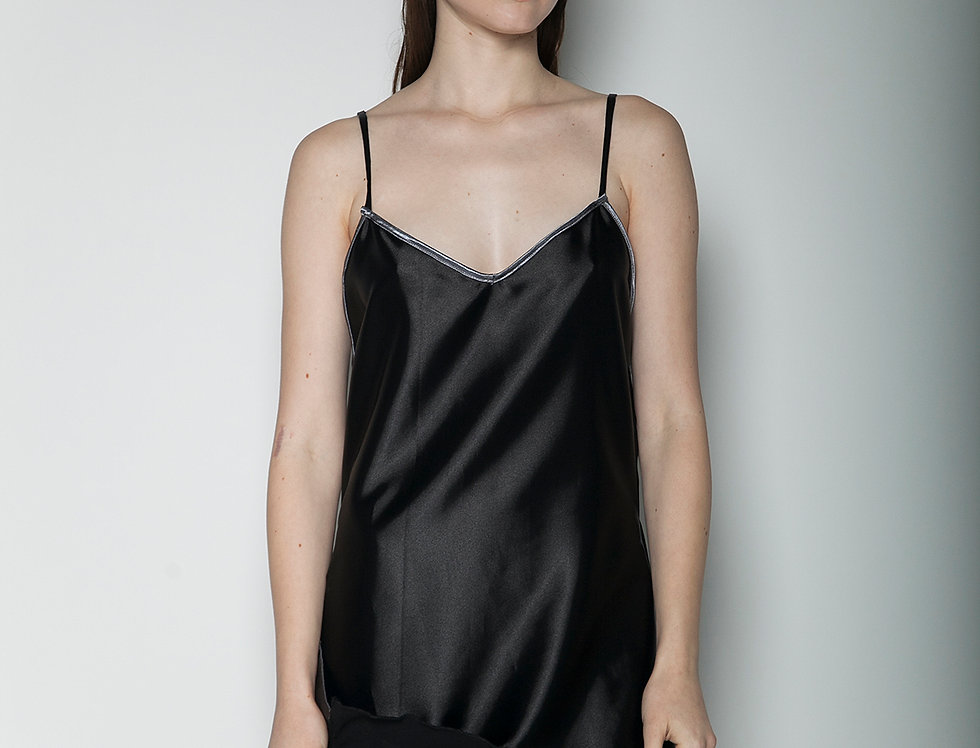 Peep Black Dress
