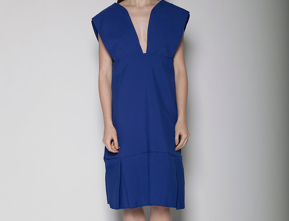 Cerulean Apron Dress