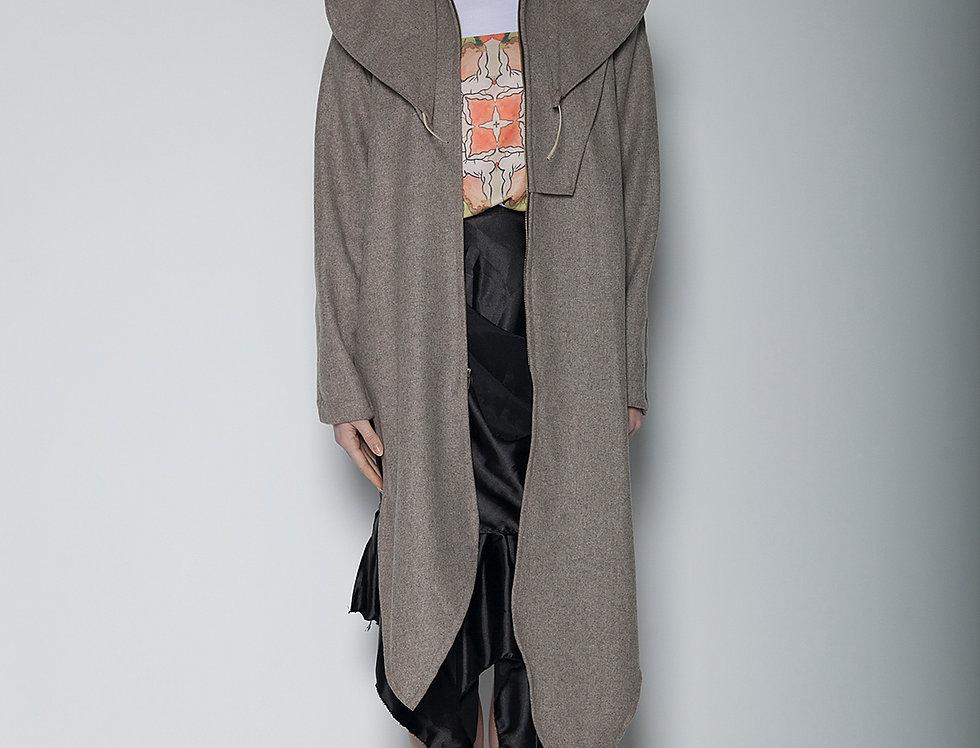 Asymmetrical Ruffled skirt