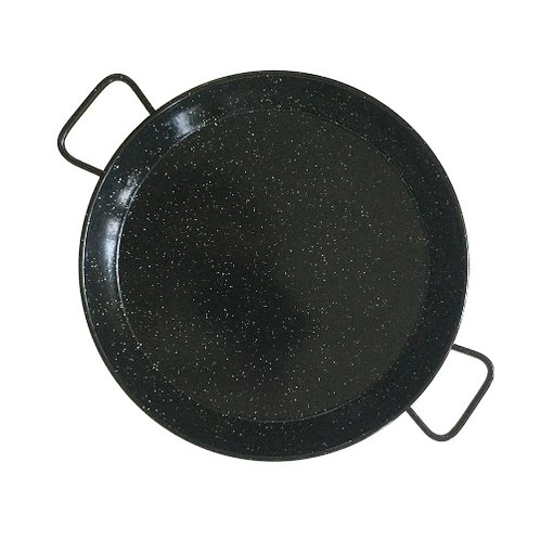 Authentic Enamel Paella Pan