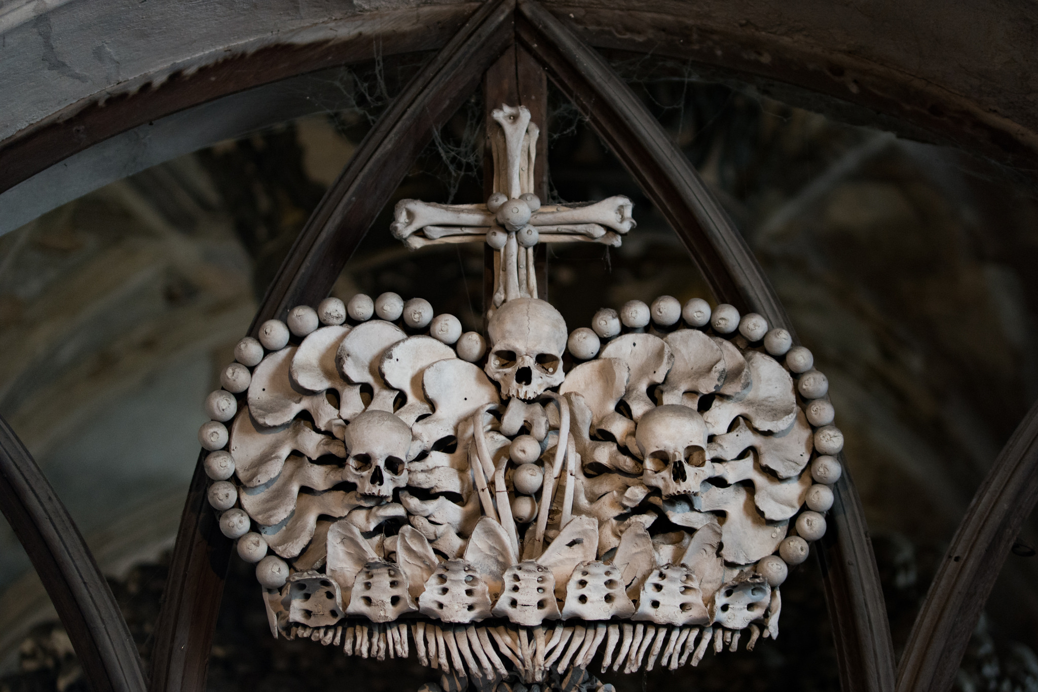 Sedlec Ossuary: The Church Of Bones