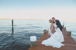 celebrations on the bay wedding pic