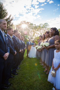 wedding at valley country club