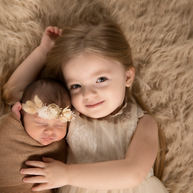 Sibling Newborn Pictures