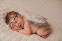 Baby with Angel Wings