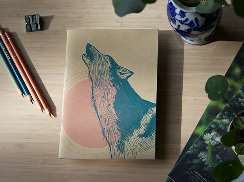 Wolf Moon Sketchbook ↠ A5