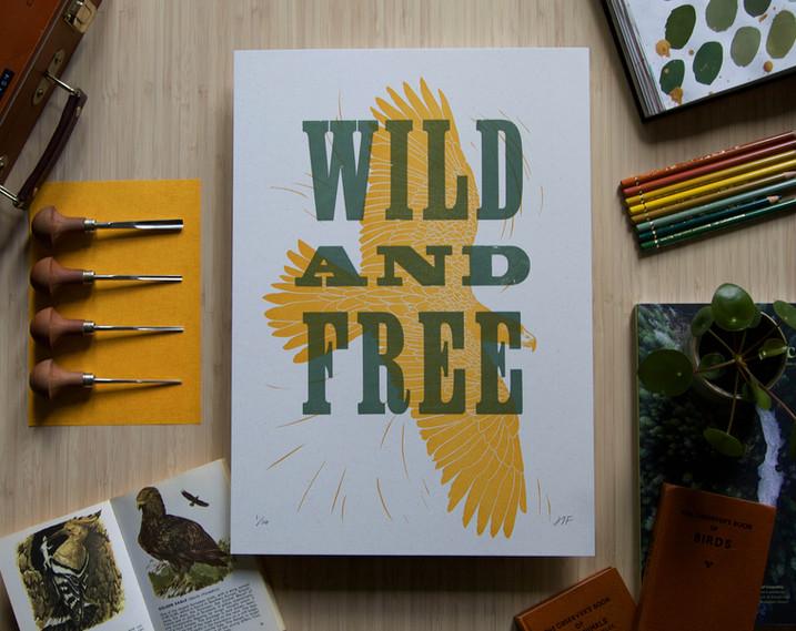 Hannah_Farthing_Wild_And_Free_Letterpress_Linocut_Print