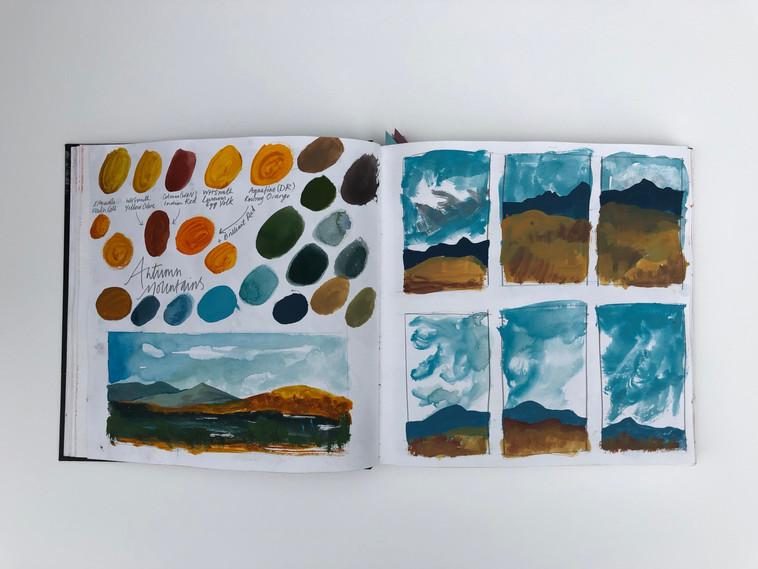 Hannah_Farthing_Scottish_Highlands_Sketchbook_Drawings_Paintings
