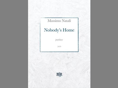 Nobody's Home   Massimo Natali