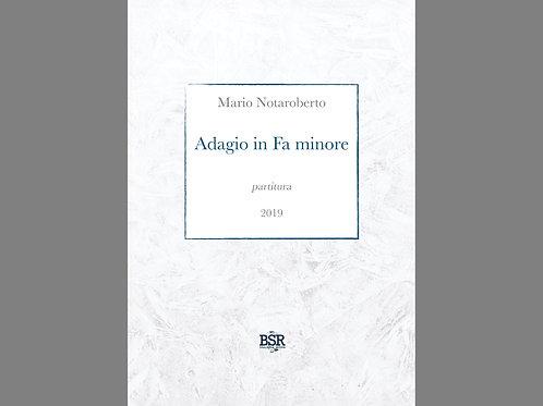 Adagio in Fa minore | Mario Notaroberto