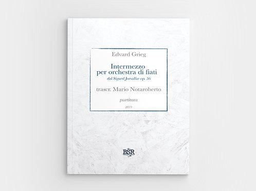 Intermezzo dal Sigurd Jorsalfar di E. Grieg | Mario Notaroberto