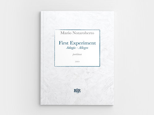 First Experiment | Mario Notaroberto